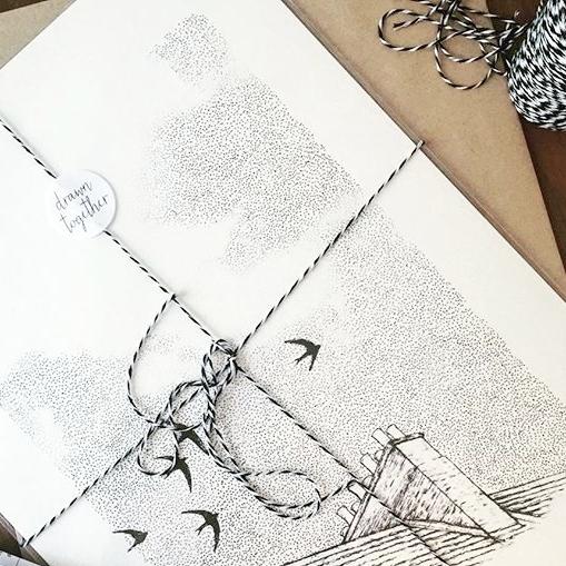 Drawn Together Art Collective Art Prints Craft Fair Tips