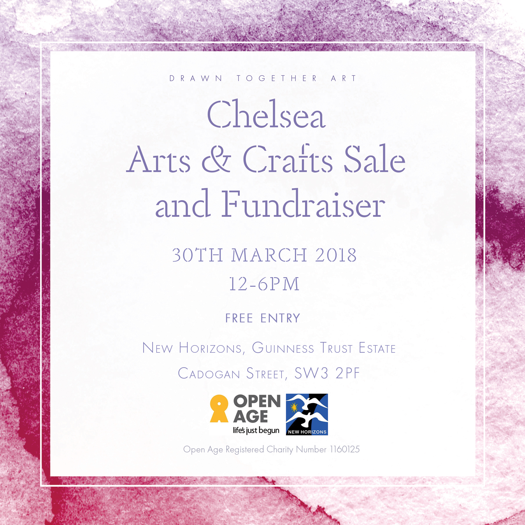 Chelsea Arts and Crafts Fair Fundraiser Art Exhibition 30th march