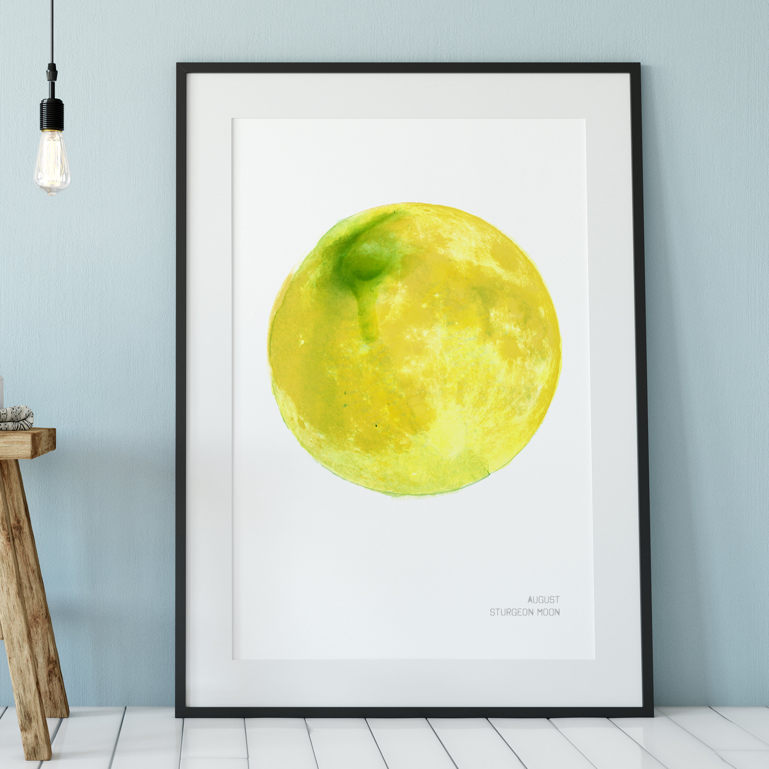 August Sturgeon Moon Art Print.jpg