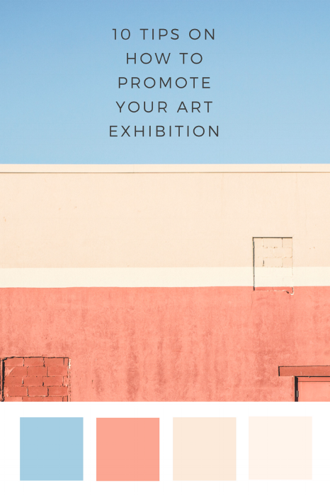 How to promote your art exhibition by Drawn Together Art Collective