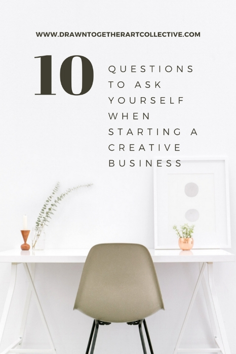 10 Questions to ask yourself when starting a creative business