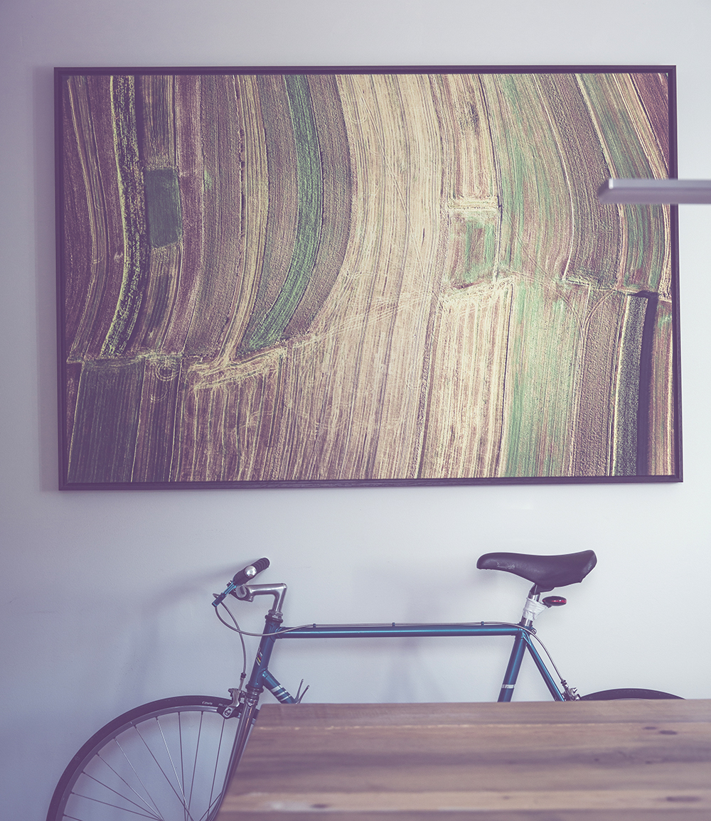 How to style your home with art  scale