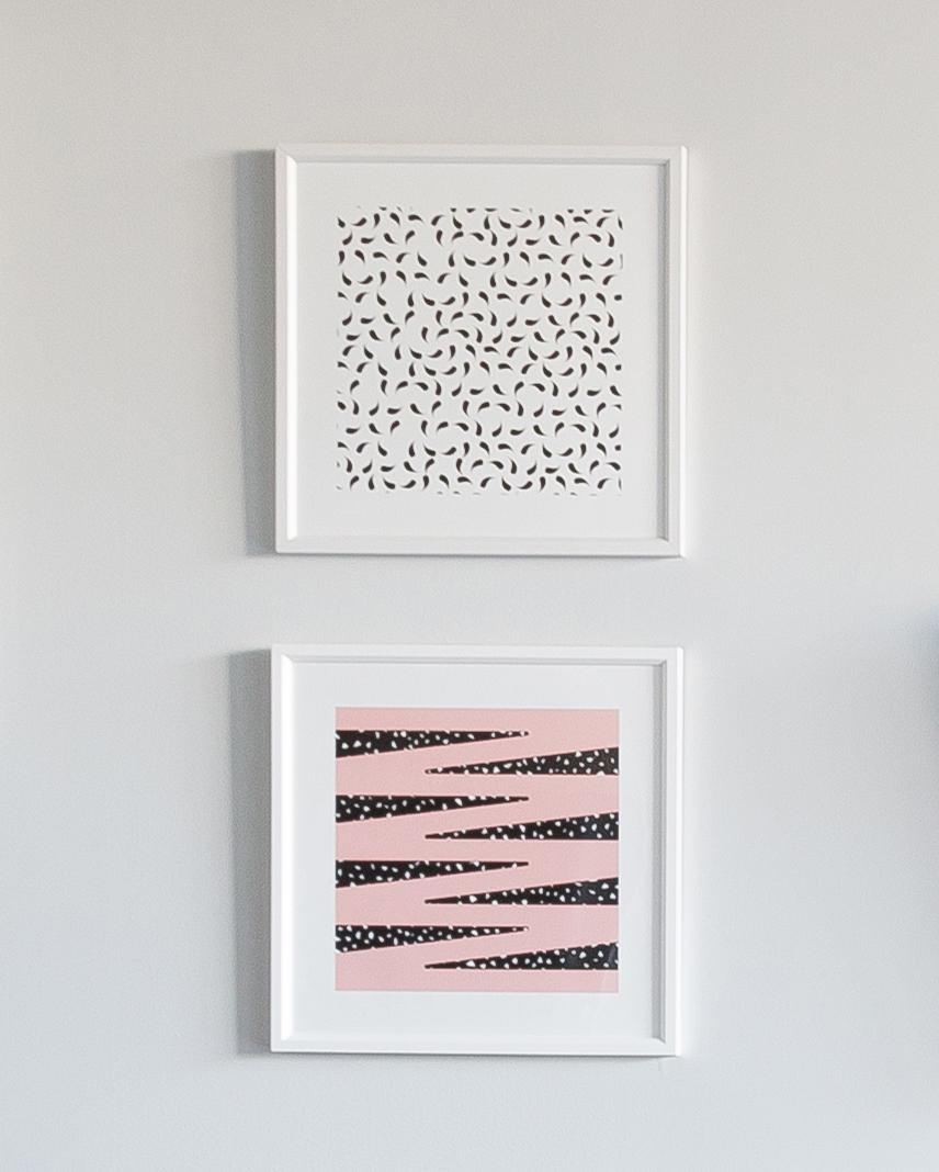 Arrange art that work together