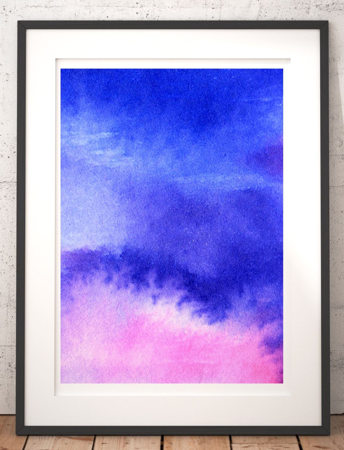 5 Art and Design Trends 2019 Abstract watercolour