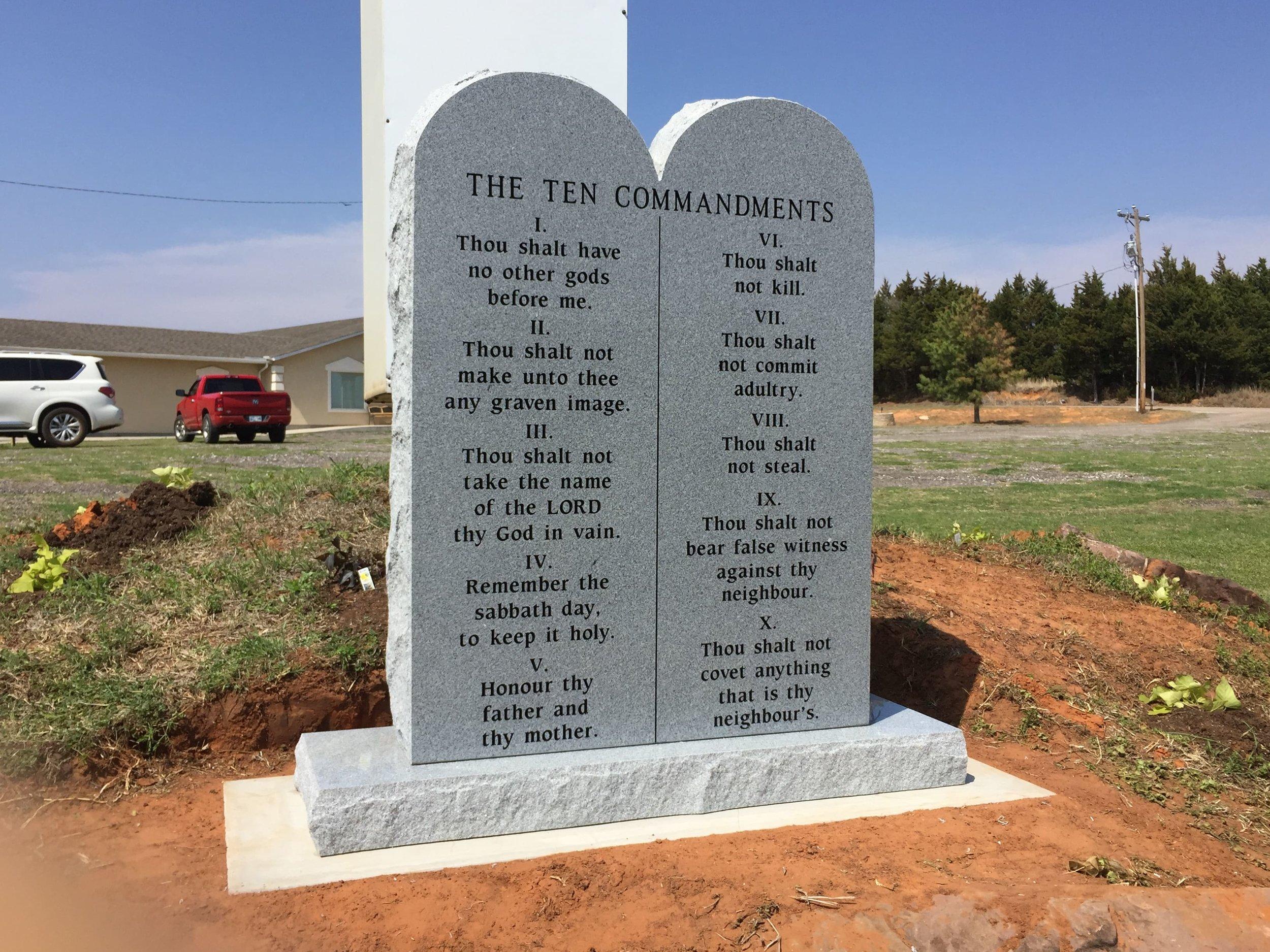 10 Commandments - Successful Word Church - Warwick, OK.jpg