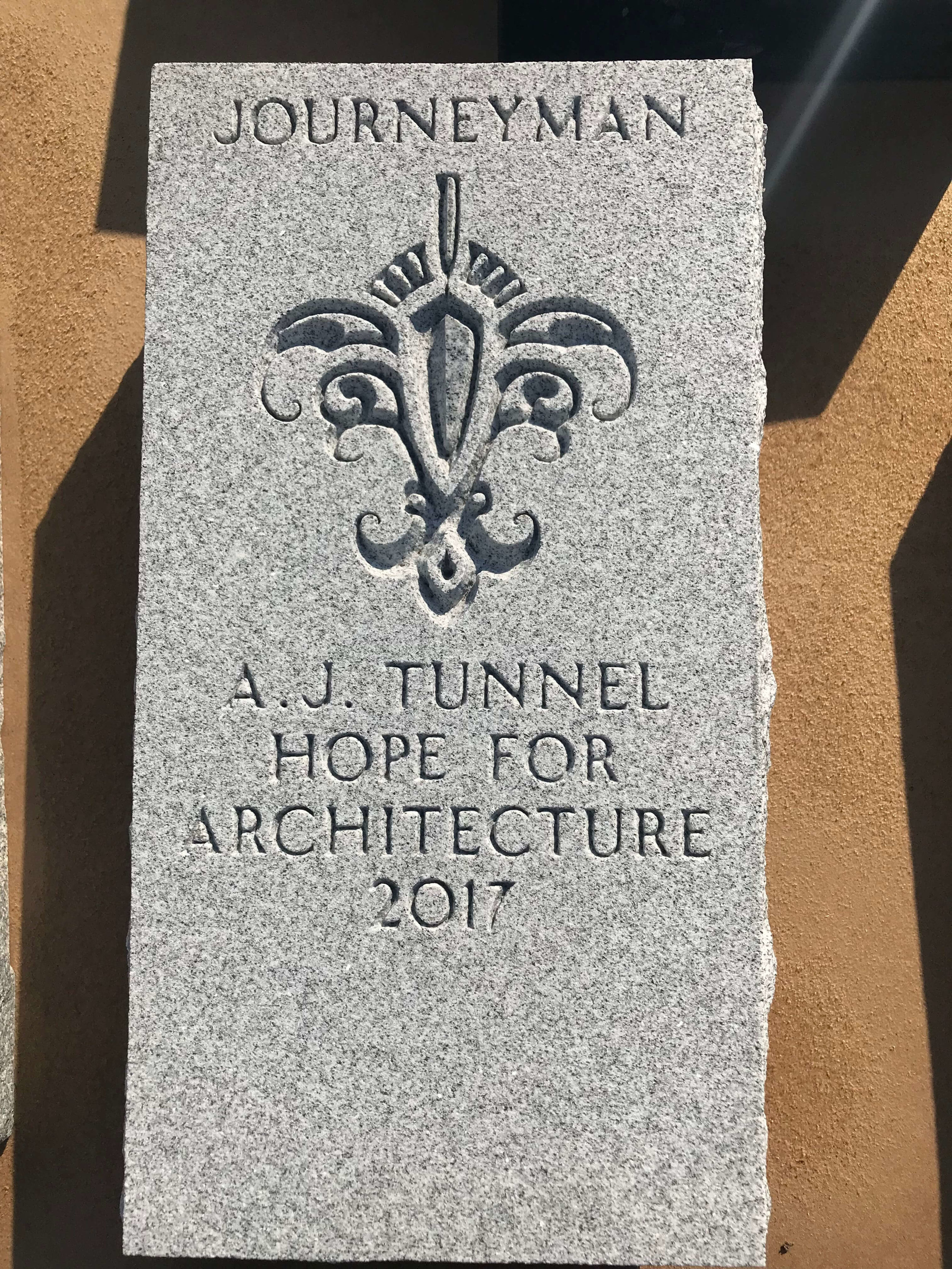 Engraved Granite Plaque - Award - Architecture 2.jpg