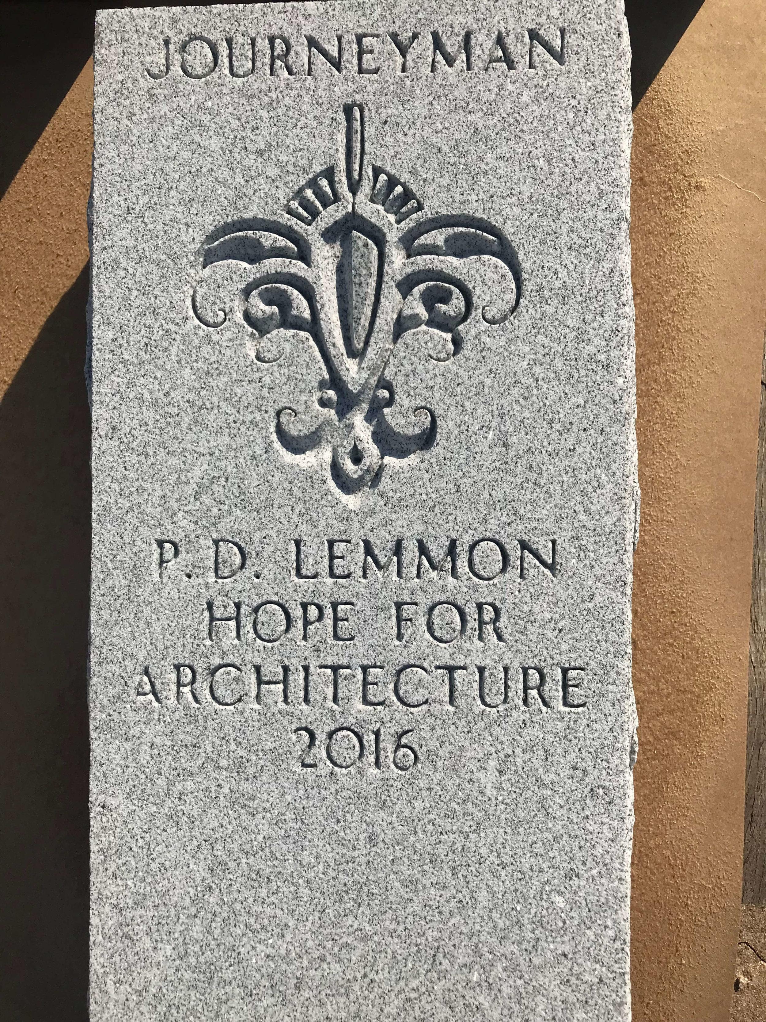 Engraved Granite Plaque - Award - Architecture 3.jpg
