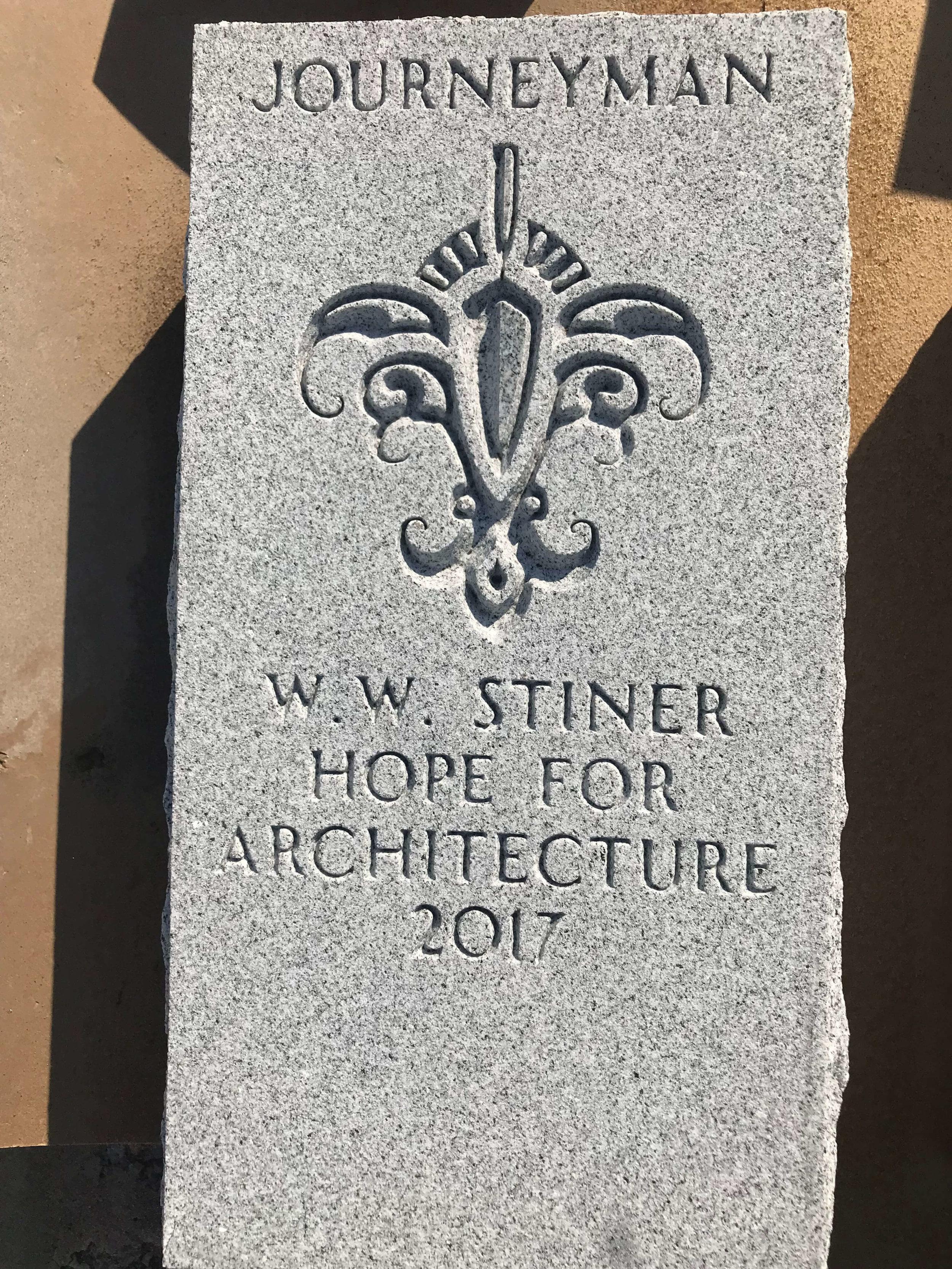 Engraved Granite Plaque - Award - Architecture.jpg