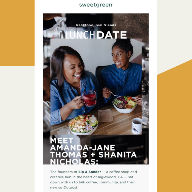 sweetgreen | July 2019