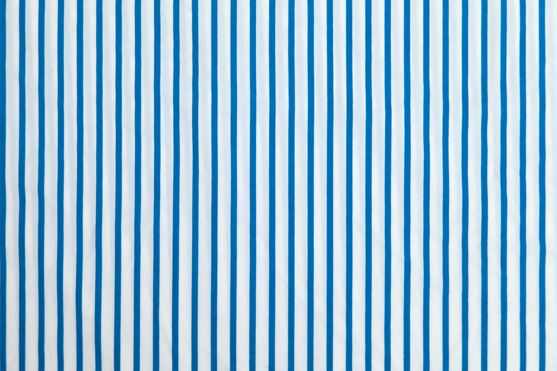 Blue & White Stripe
