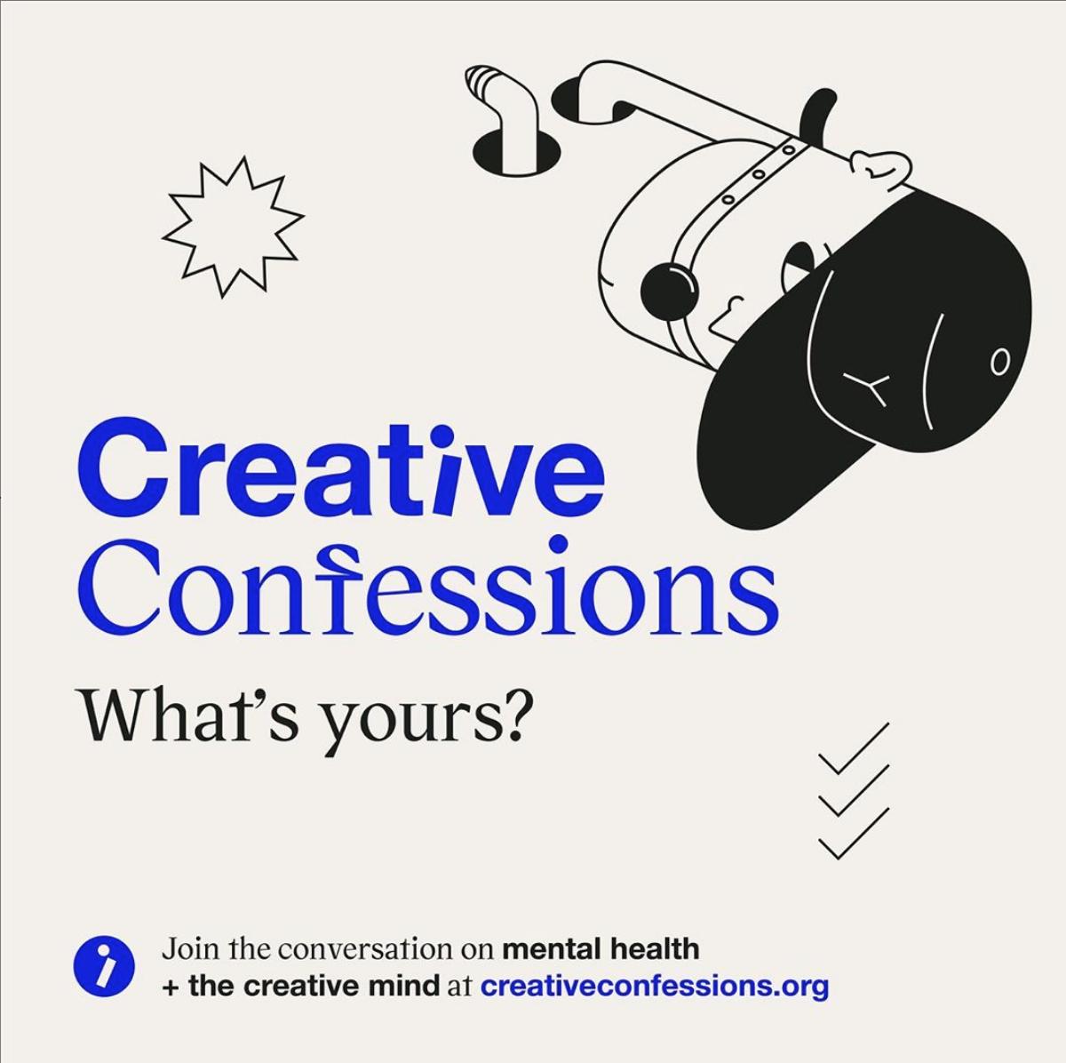 #kreativitet   #psykiskhelse   #forebygging   #åpenhet   #creativeconfessions