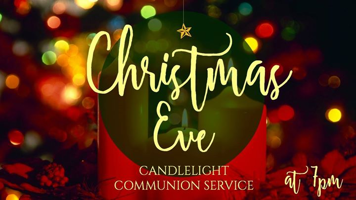 Joins for a special Christmas eve candlelight and communion service.