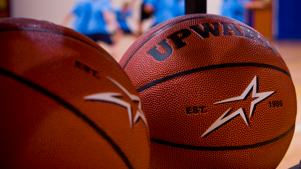 Upwards Basketball Practice