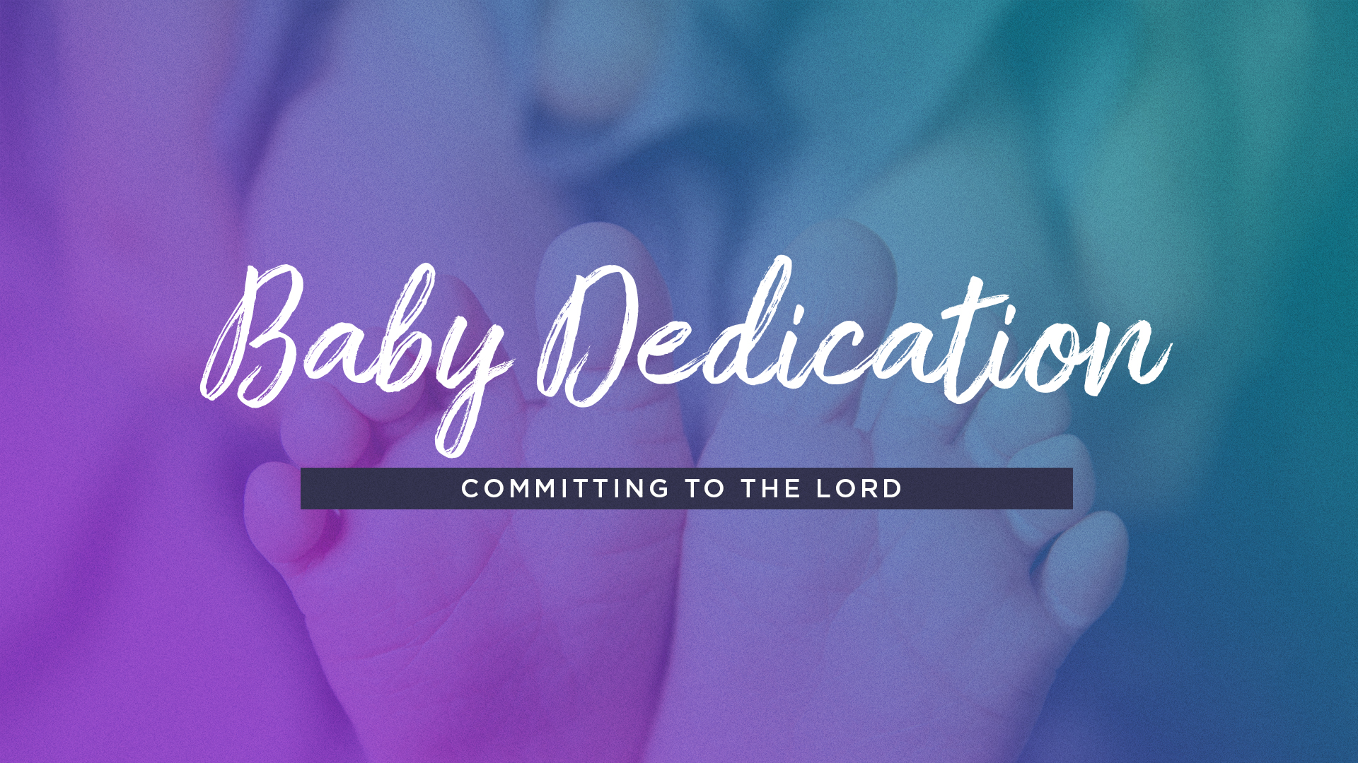 Baby and Child Dedication   will be held on  Sunday, July 7th.  If you have a child or baby to dedicate to the Lord, please call and notify the church office.