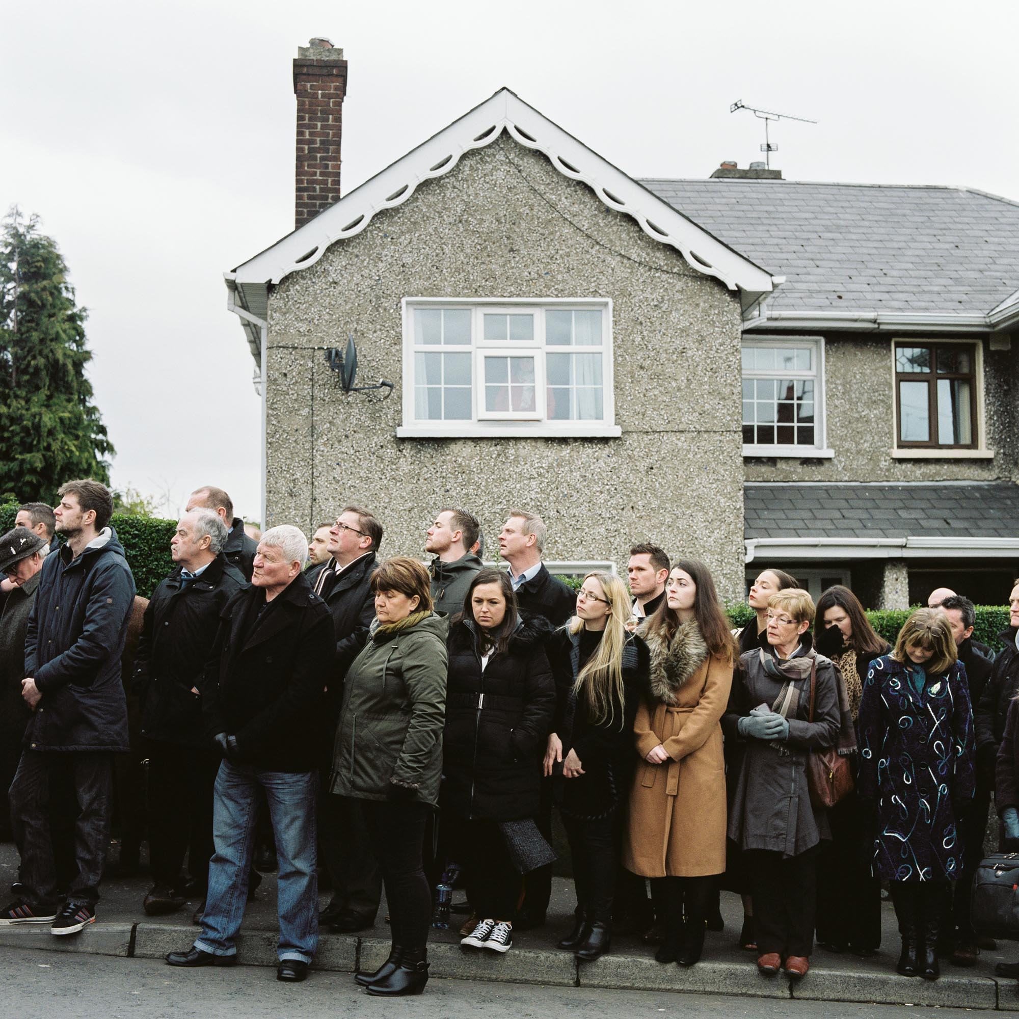 Looking for McGuinness' coffin on the Bogside