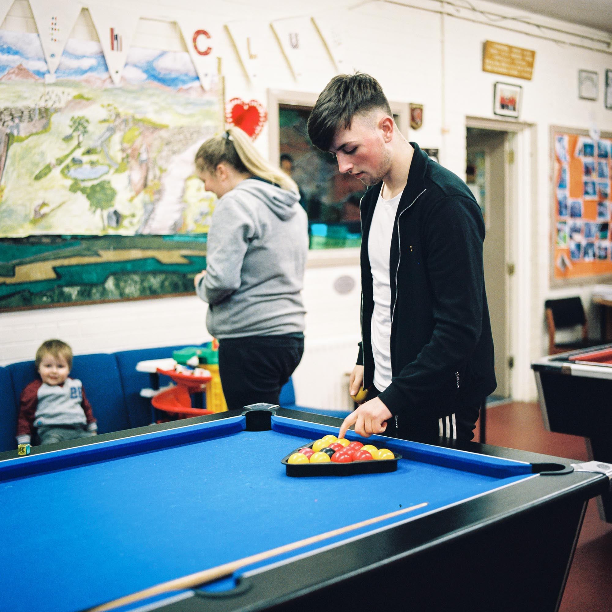 Daniel Pritchard at The Fountain Estate Youth Club, Derry