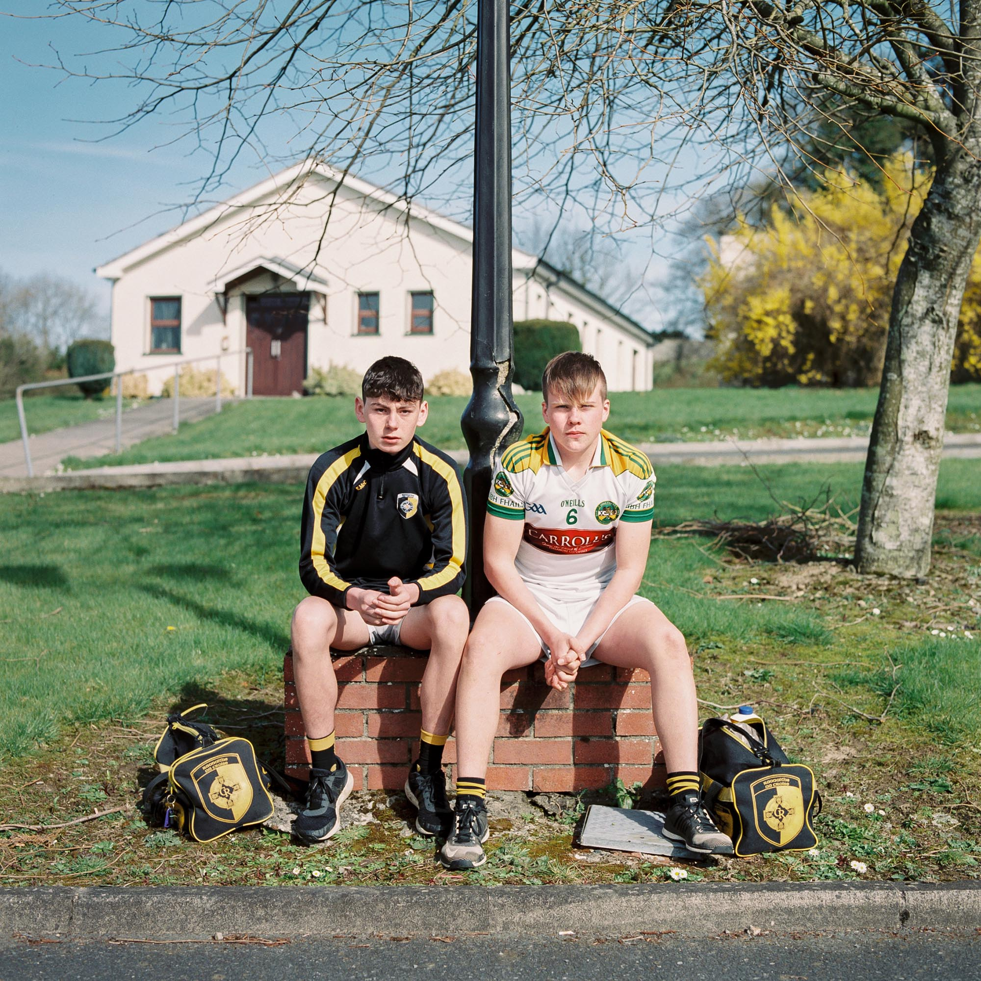Eoghan Mc Cabe and Seán Hughes, Crossmaglen