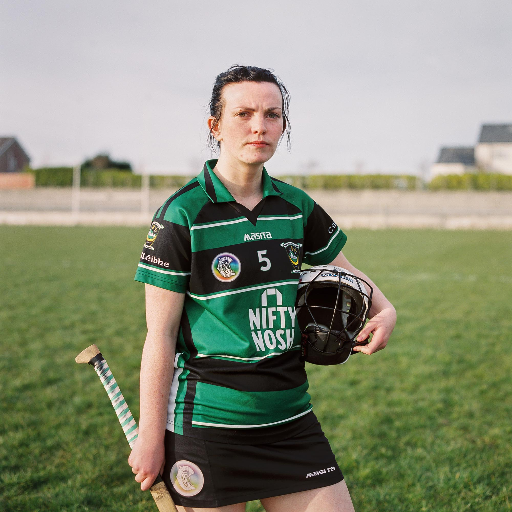 Killeavy GAA player Bronagh Byrne poses for a portrait following the game against Cullaville Blues GAA