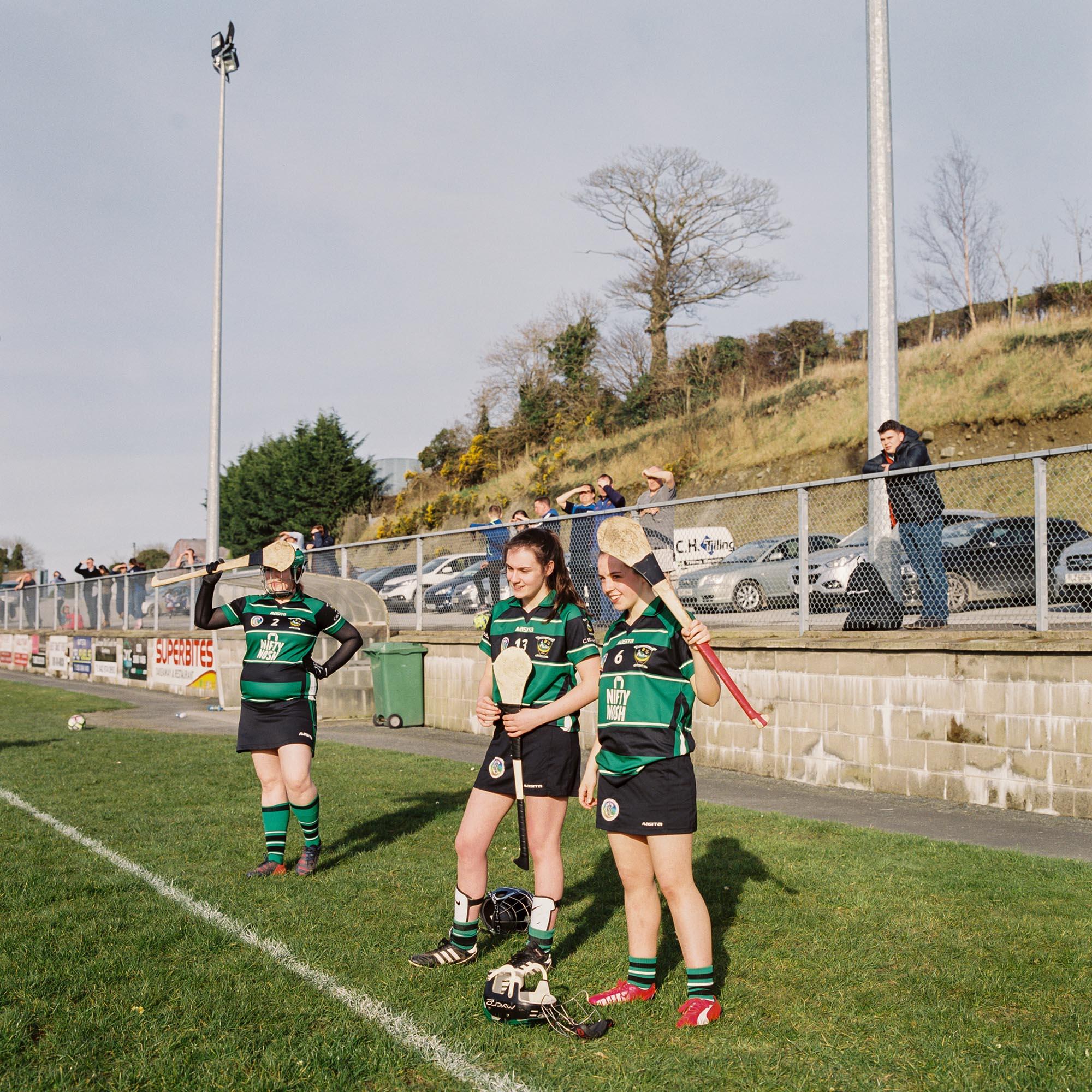 Cullaville Blues GAA host Killeavy GAA in a friendly game of Camogie