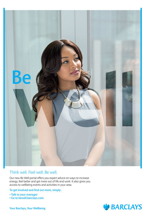 Be Well campaign for Barclays