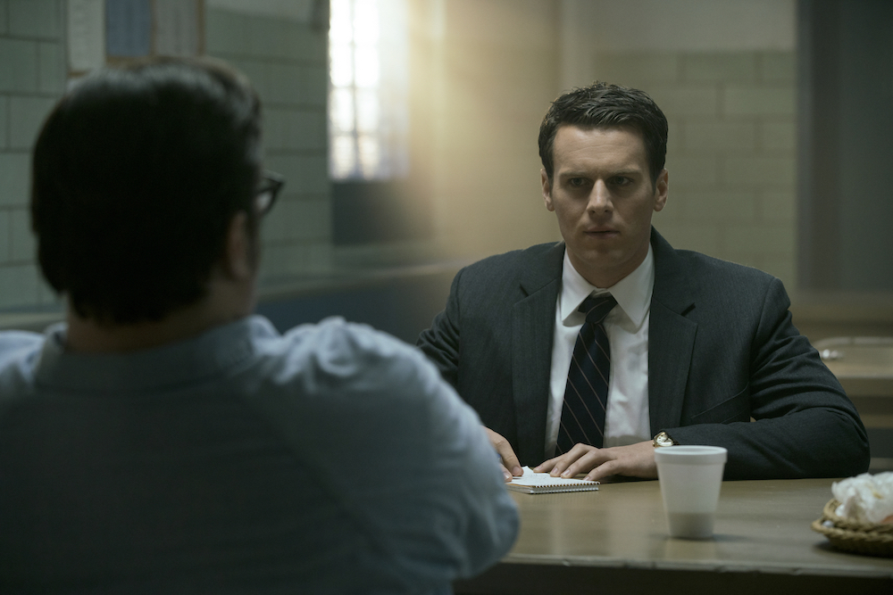 Holden meeting Ed Kemper for the first time - Mindhunter 2017 Netflix