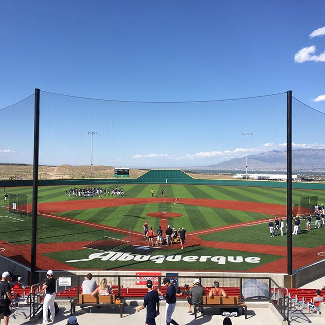 #WhereDoYouFit and other lessons for the newest Bottom of the Ninth on location from @pathway_baseball in Albuquerque. Thanks to @gino_basilio for the friendship and hospitality! @tcsports @rogue_baseball @ryan_serena4  Click link in bio to read more...
