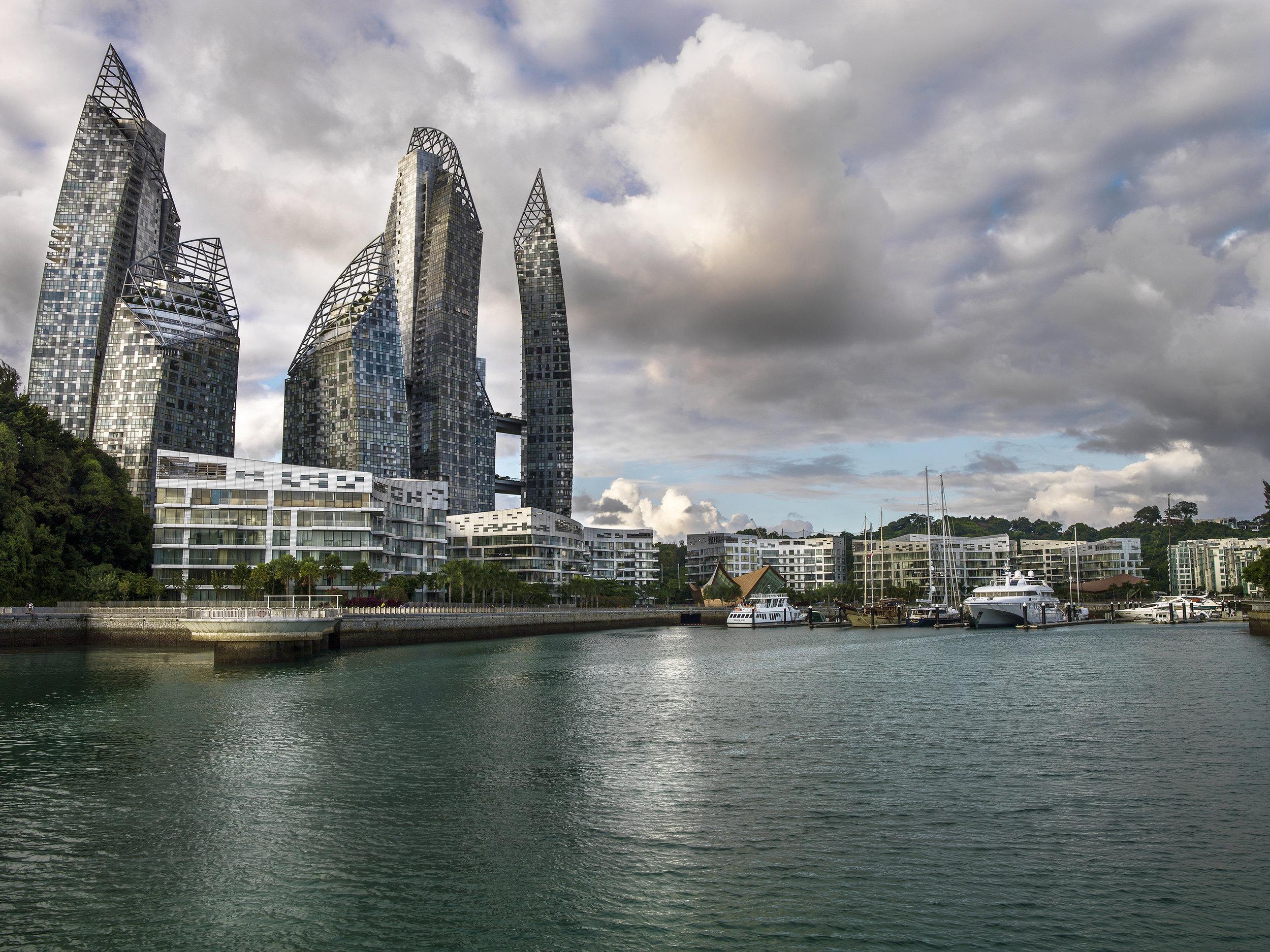 Reflections at Keppel Bay, Singapore. 2013