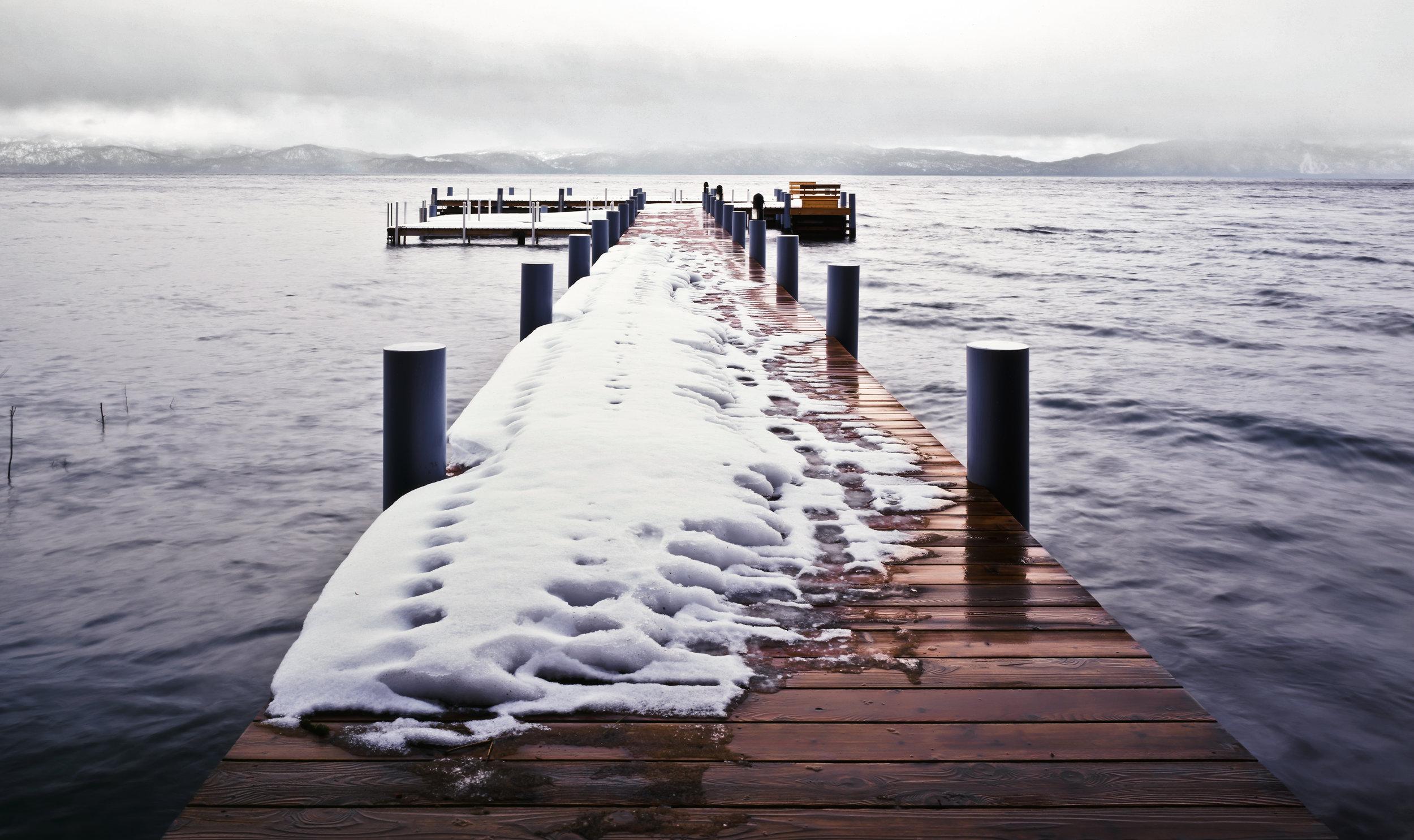 Lake Tahoe, winter. 1999