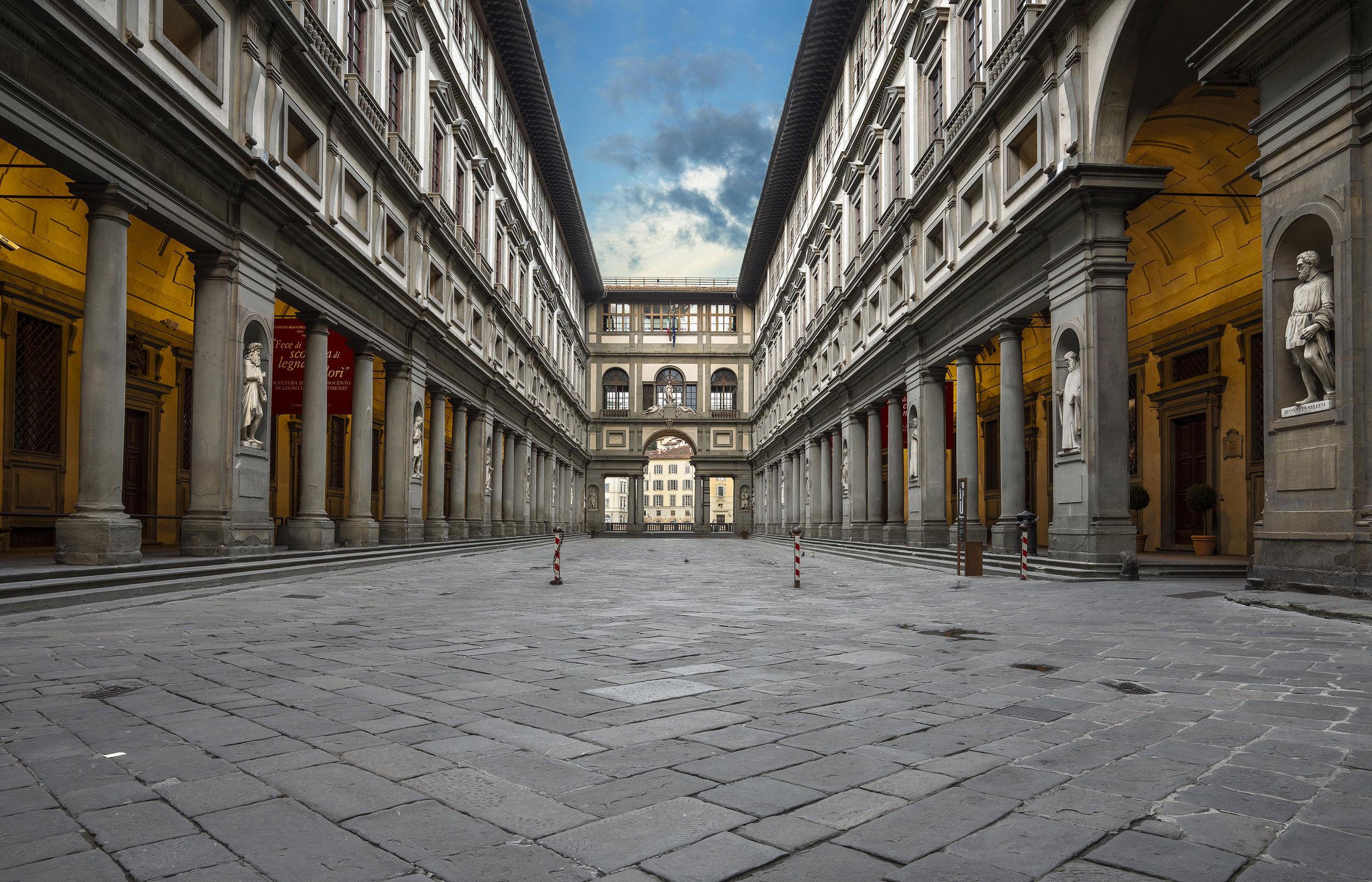 Italy, Galleria degli Uffizzi. 2016