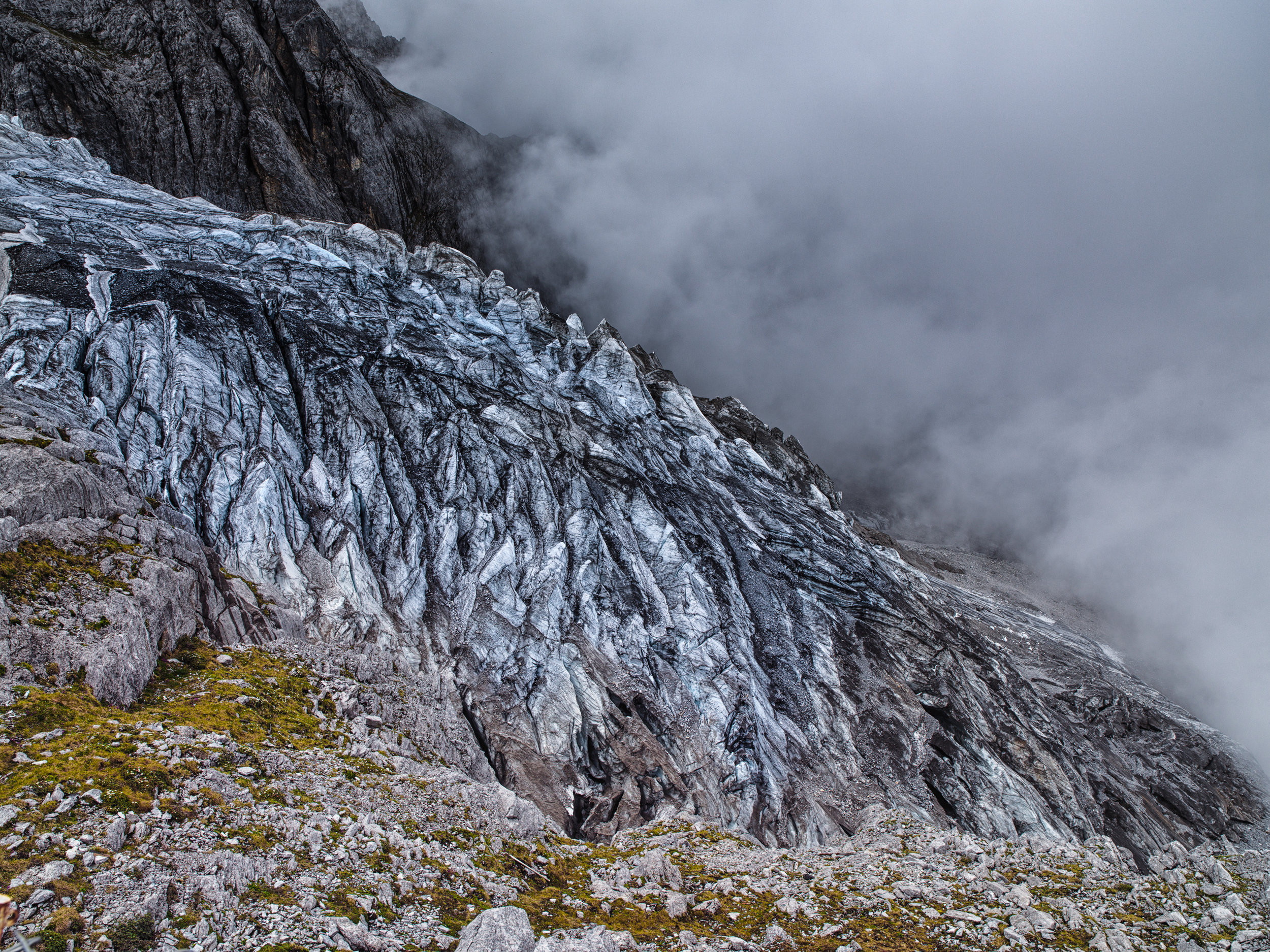 Shigatze glacier during summer 2006