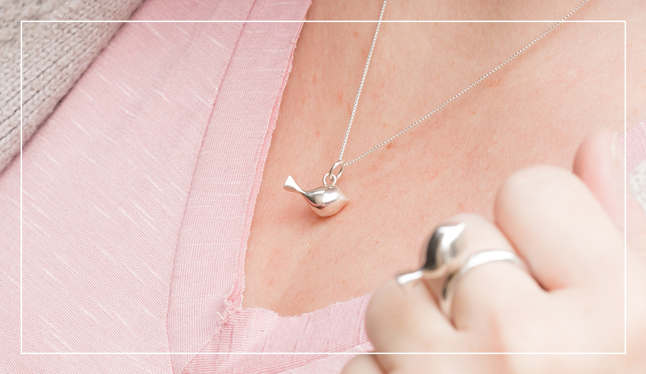 Mr. Tweet Tweet ring and pendant collection