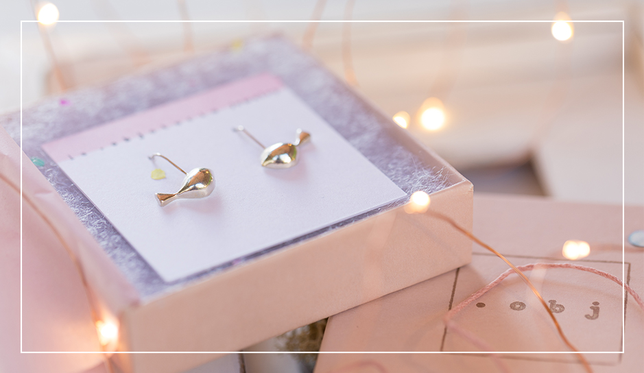 Mr. Tweet Tweet - Bird earrings in sterling silver