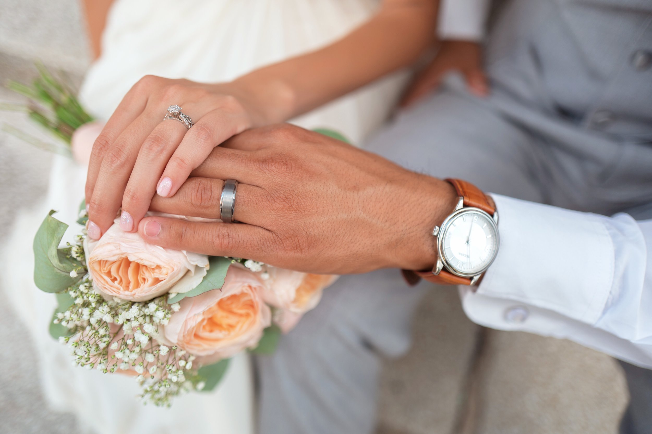 Wedding Ring - The average couple spends is $5,355 for the bride and groom. We can help relieve these expenses
