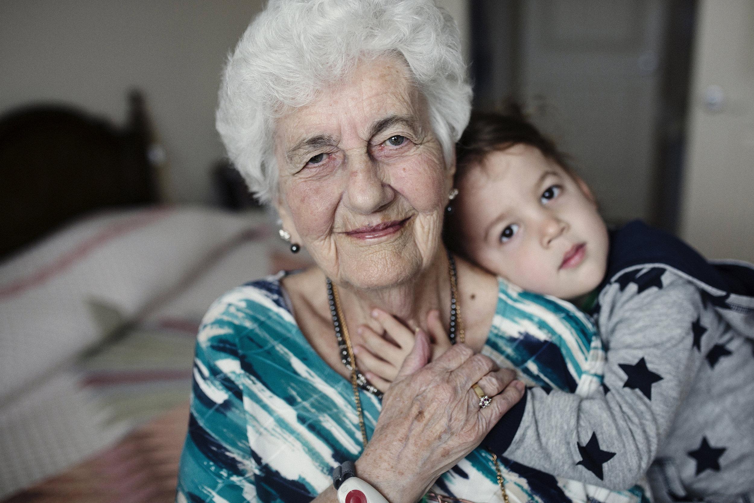 """DEVON HALL - """"Great Grandma & Reeves"""" f/2, 1/400, Sigma 35mm Art"""