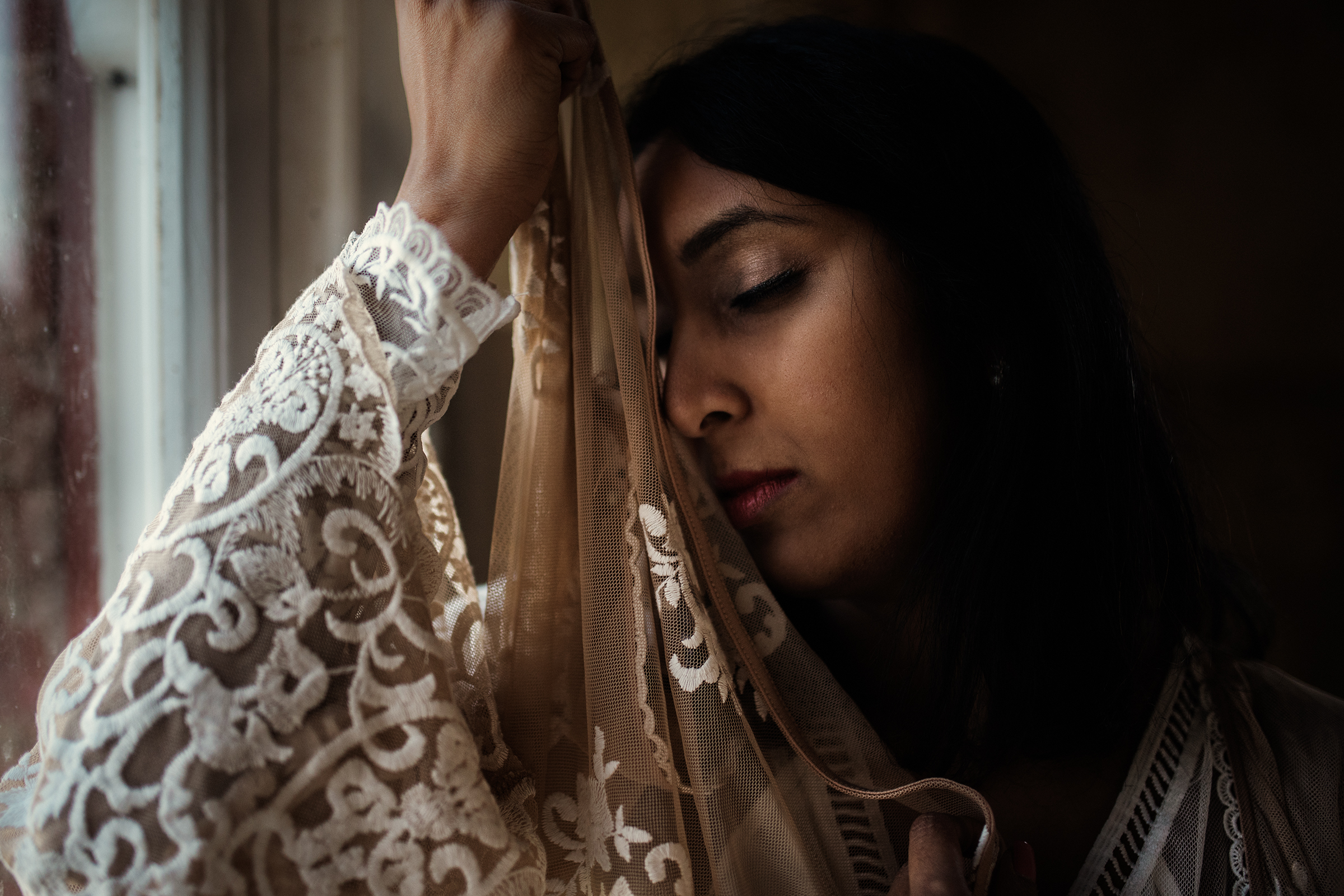 "CHRISTINA MCLAUCHLIN - ""Lift Up the Veils that Darken the Delicate Moon"" (Sarojini Naidu)   35mm, ISO 640, f/1.4, 1/2000"