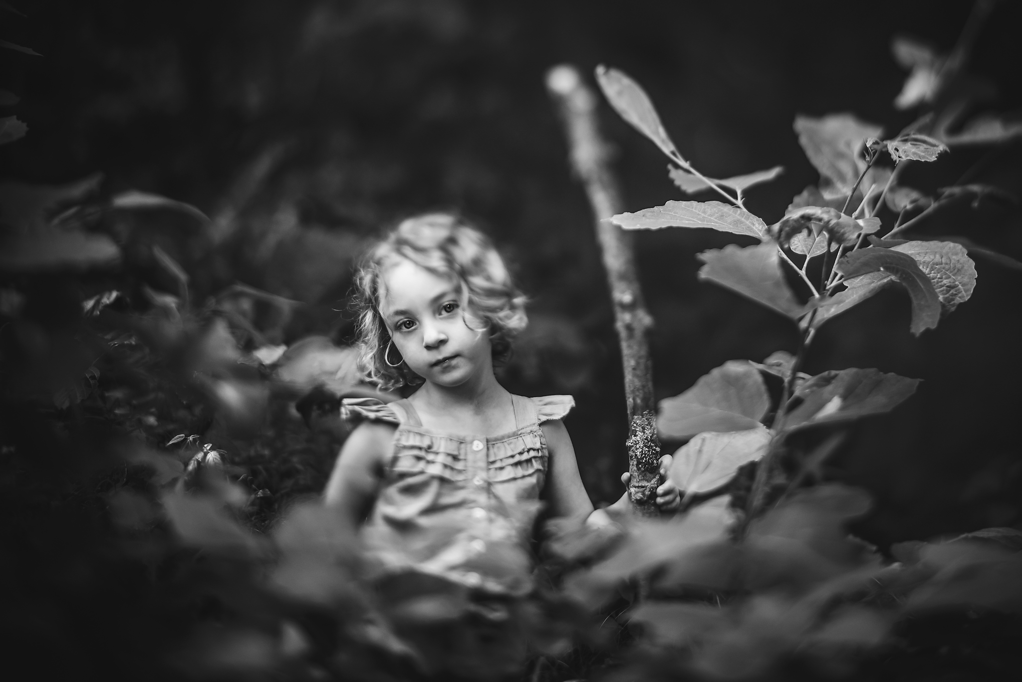"HOLLY AWWAD- ""Wild Child""  85mm freelensed, ISO 400, 1/1250"