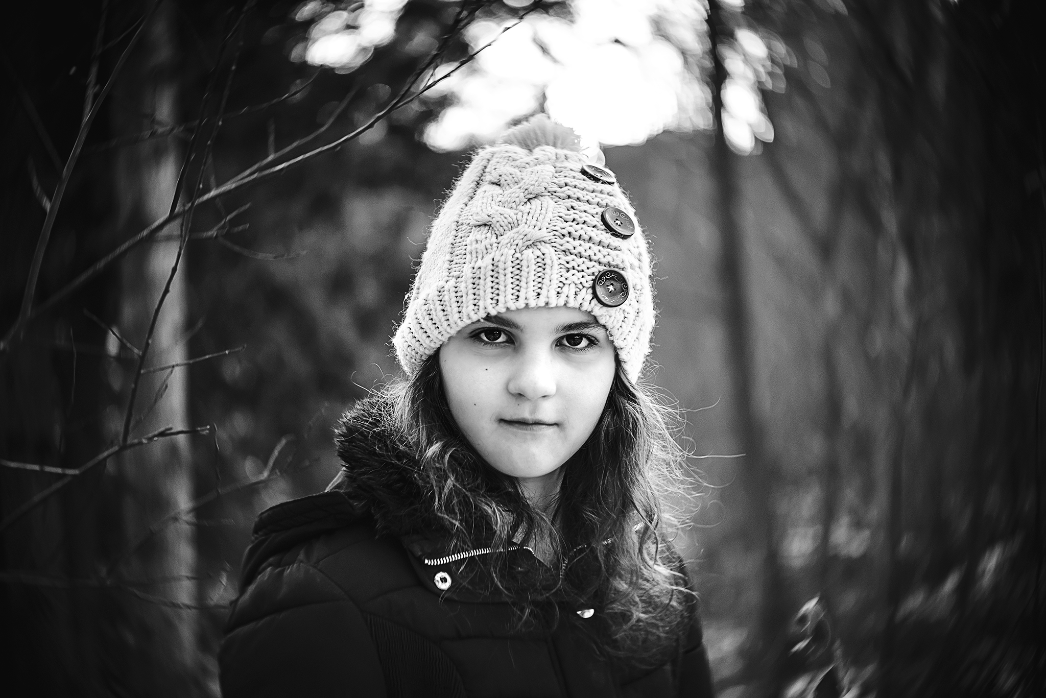 "HOLLY AWWAD- ""Winter""  Lensbaby Twist 60 optic, ISO 400, f2.5, 1/400"