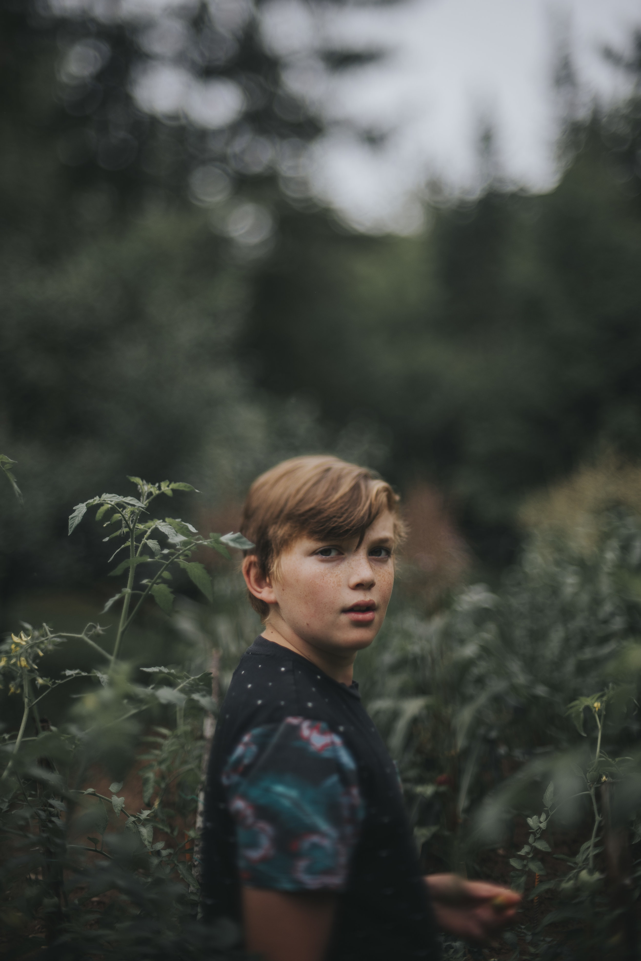 "JONI BURTT - ""almost twelve""  50mm lens, freelensed"