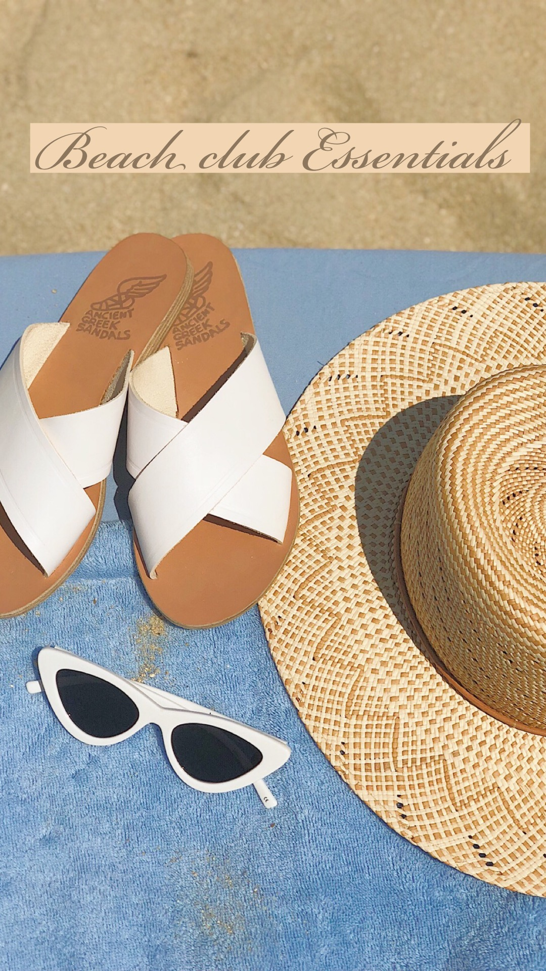 SummerMust-haves! - These accessories tie any outfit together and are so versatile and comfortable.