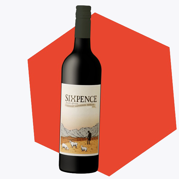 Sixpence Red Blend Cabernet Sauvignon Merlot By Opstal Wines Slanghoek Valley South Africa