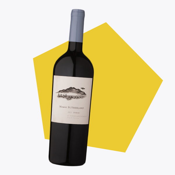 Mount Sutherland Syrah By Super Single Vineyards Stellenbosch South Africa
