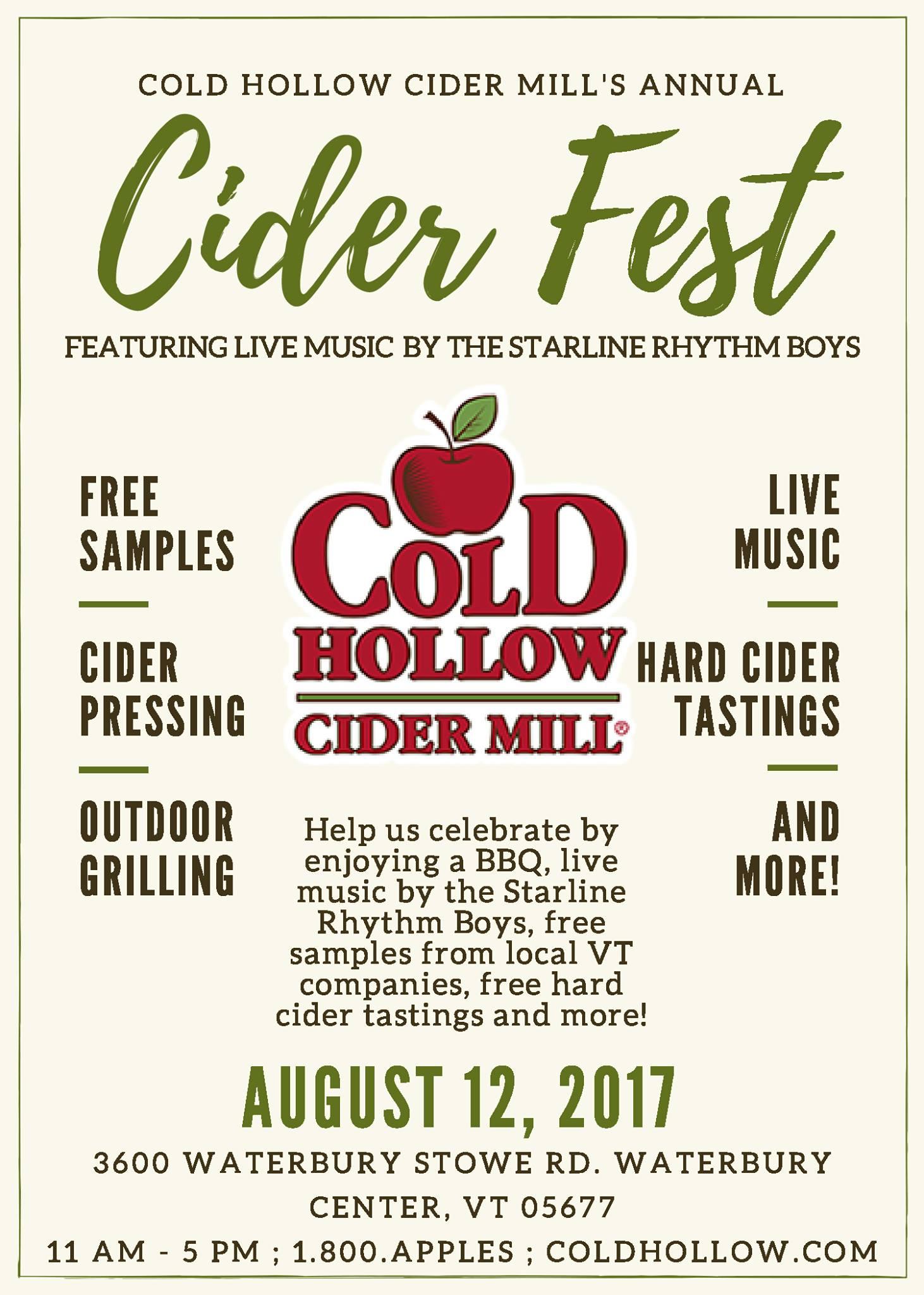 2017 Cider Fest Poster