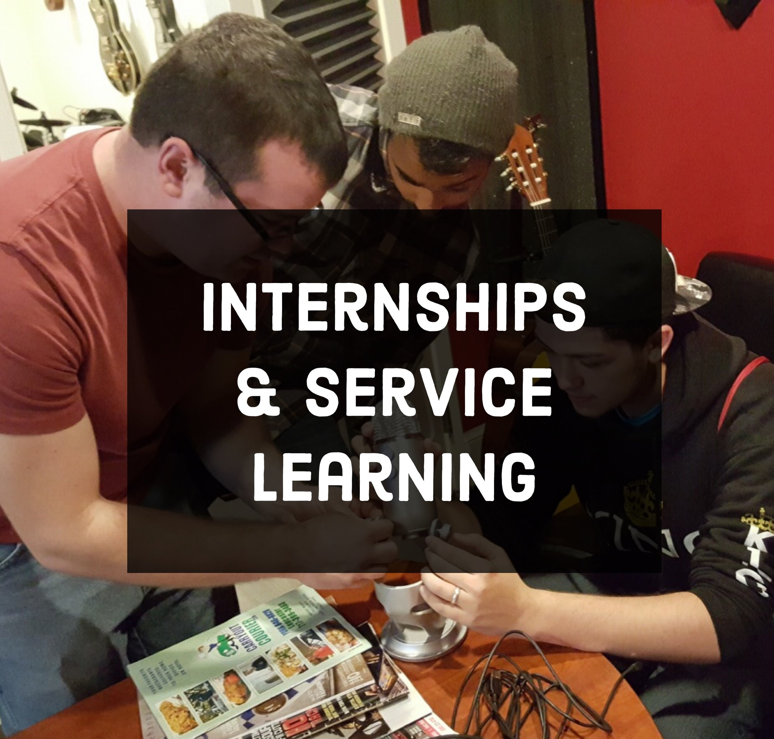 - For the past 4 years, students have been interning with Studio 117 from over 15 school districts in York County and beyond. Having the chance of being mentored directly by some of the most creative minds in the area can be a life changing experience. Not only do we provide a young and relate-able experience in regards to the music industry, but we take the time to find what our interns are truly passionate about. From there, we can expose the students to careers that are directly related to their passions, rather than focusing solely on music. With this approach our interns are impacted in all aspects of their life and gain a sense of clarity for their future.