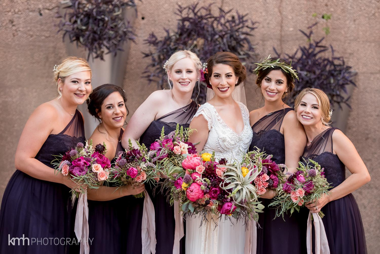 Bridal Party hair and makeup at JW Marriott Las Vegas