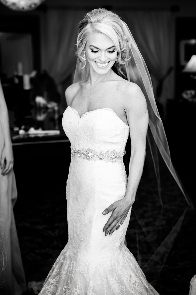 Perfect wedding hair and makeup by Amelia C & Co