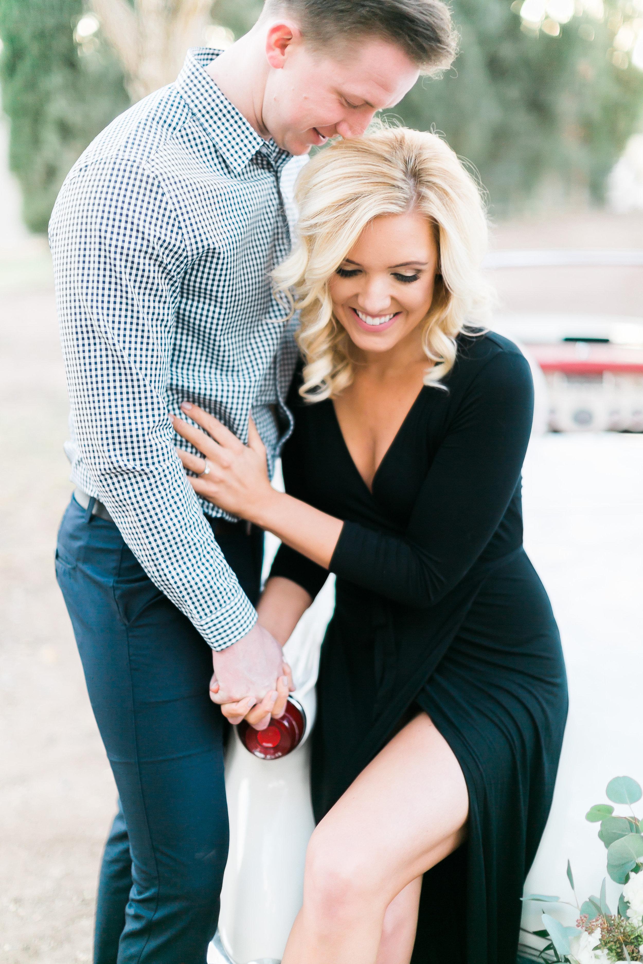 Engagement Wedding Makeup for Photos