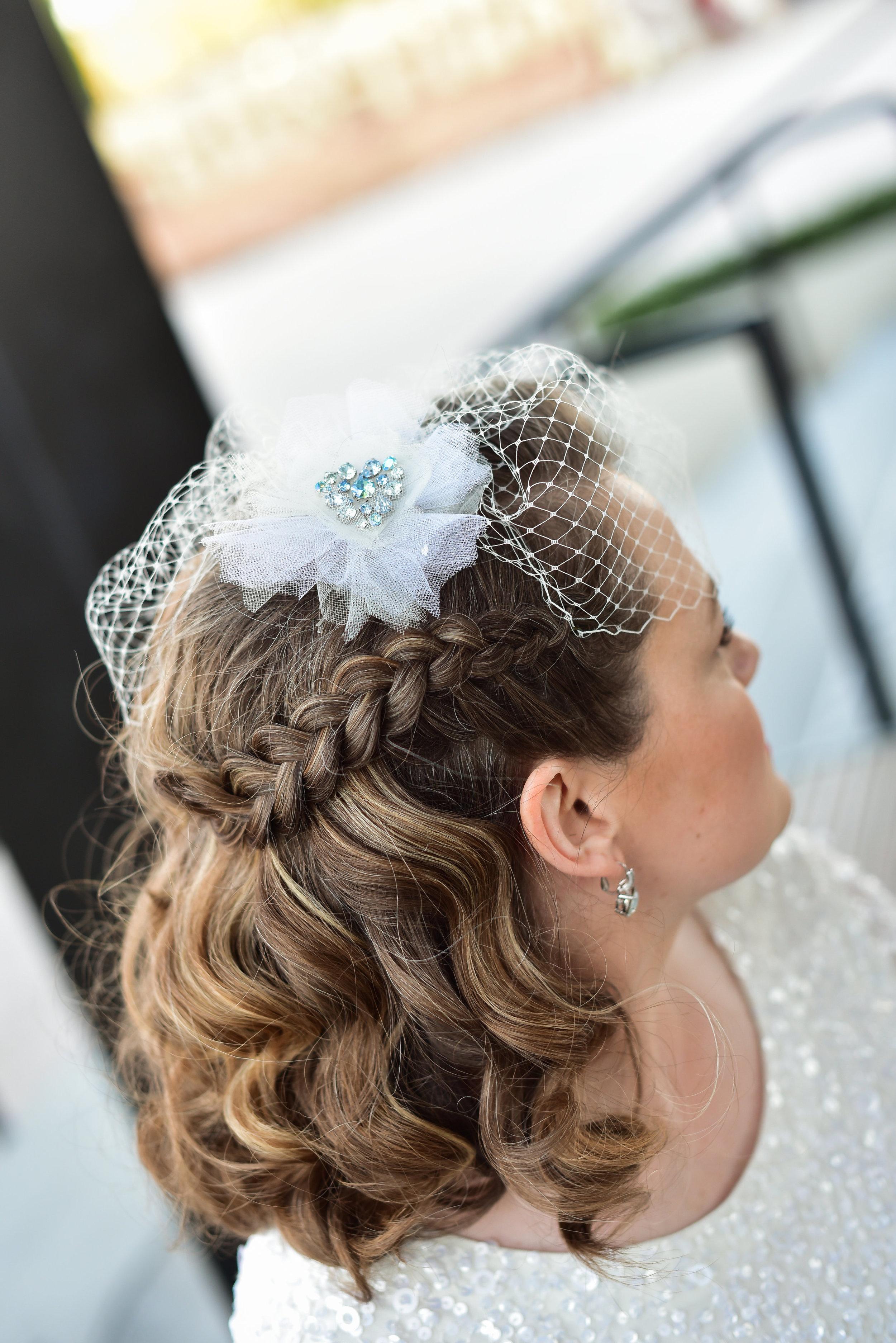 Wedding Hair at Smith Center Las Vegas