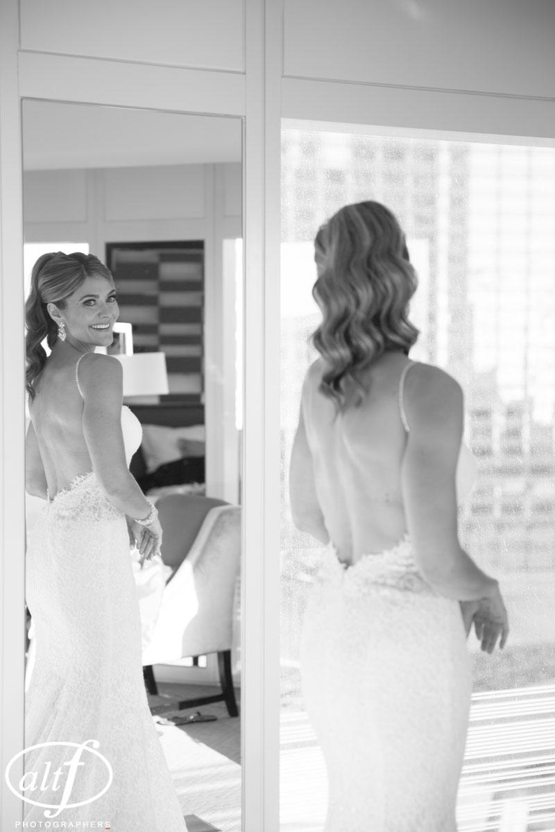 Wedding Hair at the Mandarin Oriental Las Vegas
