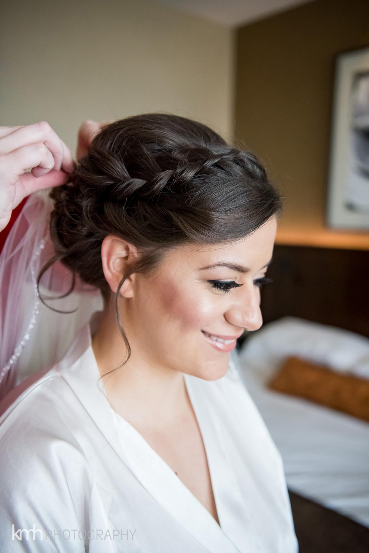 Wedding Hair at Mandalay Bay Las Vegas