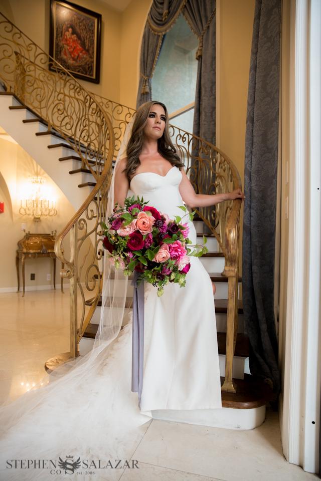 Wedding Makeup at Casa de Shenandoa in Henderson NV